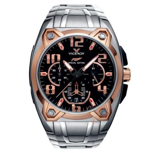 mejor selección 1ce73 5a83a Viceroy Fernando Alonso RoseGold Bezel-Stainless Steel Bracelet Watch