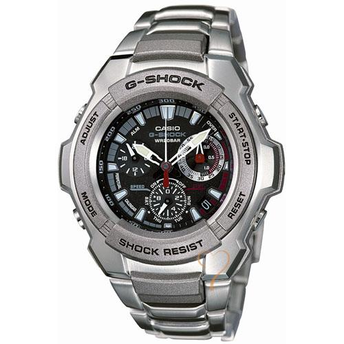 Casio G Shock Chrono Stainless Steel Bracelet Watch Bemine De