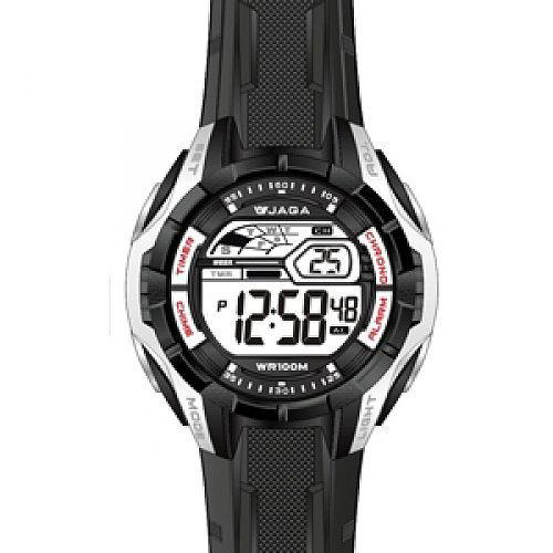 Ρολόι JAGA Sport Black Rubber Strap  5162c3582f3