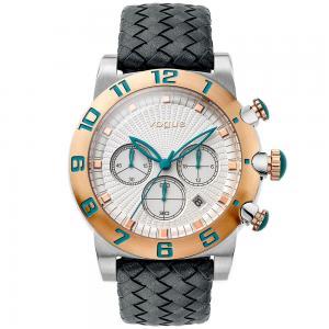 Vogue Allure Chrono Grey Leather Strap Watch 2bcbe2f5781