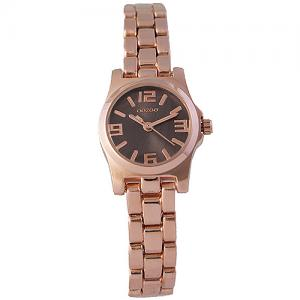 Oozoo Timepieces 21mm Brown Dial - RoseGold Bracelet Watch dbc3fdf6946