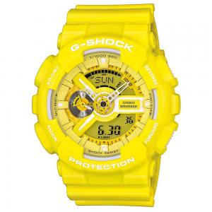 Casio G-Shock Anadigi Yellow Rubber Strap Watch 0656bb23405