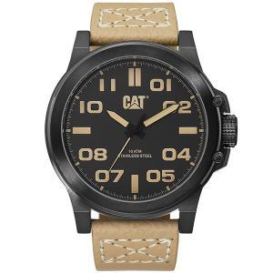 CATERPILLAR Chicago 3D Beige Leather Strap Watch 602bcbb7de7